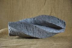 2018.2 Bruno Bienfait, torsion, terre cuite, L 28 cm.