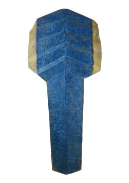 2018.25 Bruno Bienfait, chêne, h 170 cm.
